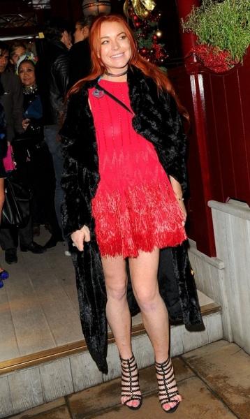 Линдси Лохан попала в крупный скандал из-за воровства у бывшего любовника