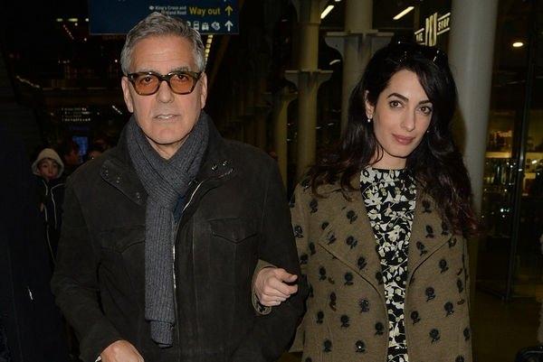 Джордж Клуни беспокоится за жизнь новорожденных близнецов