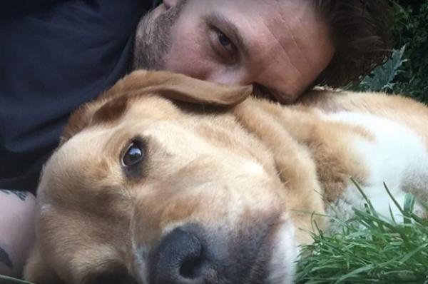 Том Харди потерял любимую собаку