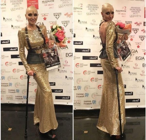 Лама Сафонова впервые стала гостьей светской вечеринки после страшного диагноза