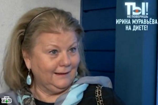 Ирина Муравьева худеет ради детей
