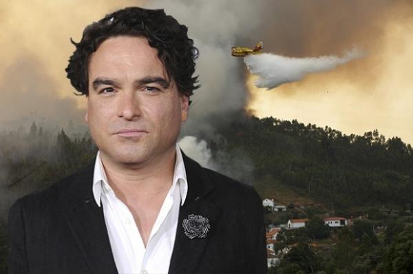 Калифорнийское ранчо звезды сериала «Теория большого взрыва» Джонни Галэки сгорело дотла