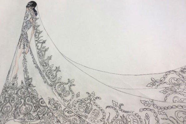 Виктория Романец поделилась тем, на какое свадебное платье пал ее выбор