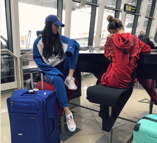 Алёна Водонаева и Алекс Малиновский были задержаны в аэропорту Минска