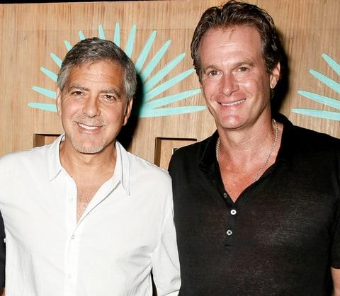Рэнди Гербер необычно поздравил Джорджа и Амаль Клуни с рождением двойни