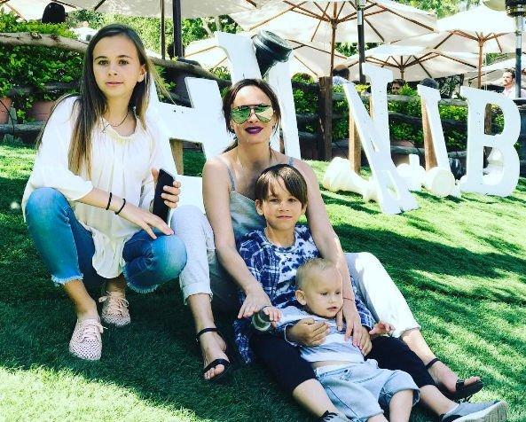 Саша Зверева огорчена поведением отца своих детей