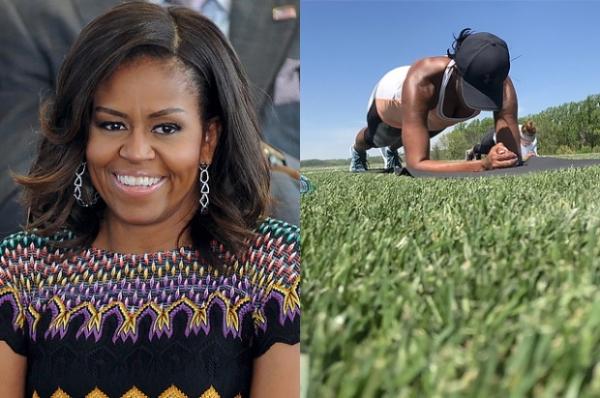 Мишель Обама на время стала фитнес-тренером