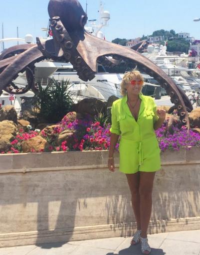 Лариса Копенкина ушла в отрыв на отдыхе
