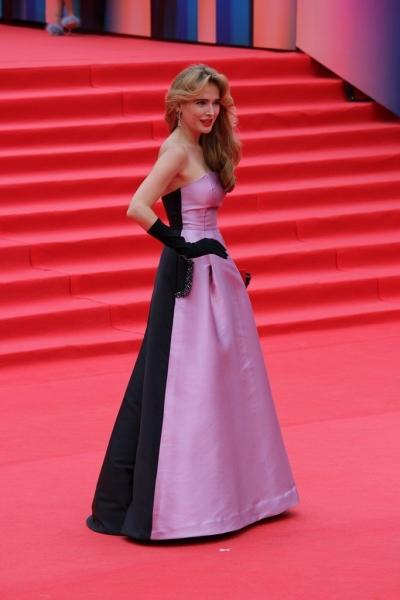 Анну Горшкову на закрытии ММКФ-2017 сравнили с принцессой