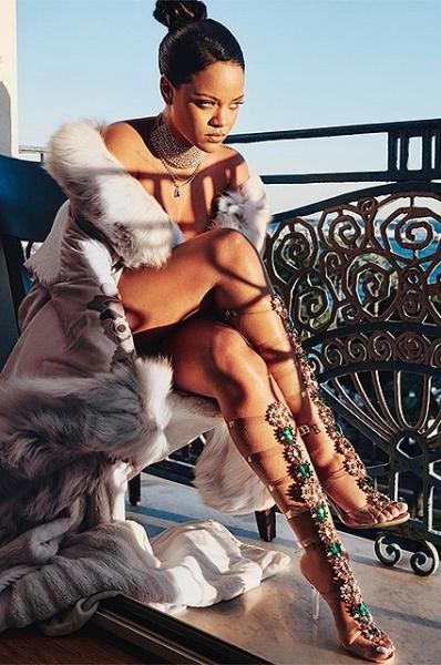 Рианна представила новую коллекцию обуви