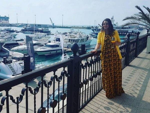 Глафира Тарханова готовится стать мамой в четвертый раз