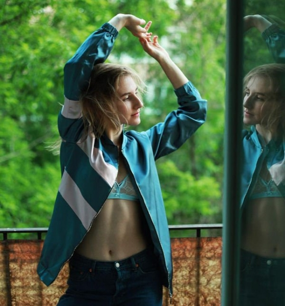 Дочь Максима Виторгана предстала в нижнем белье