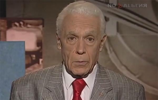 Умер легендарный создатель программы «Время» Леонид Золотаревский