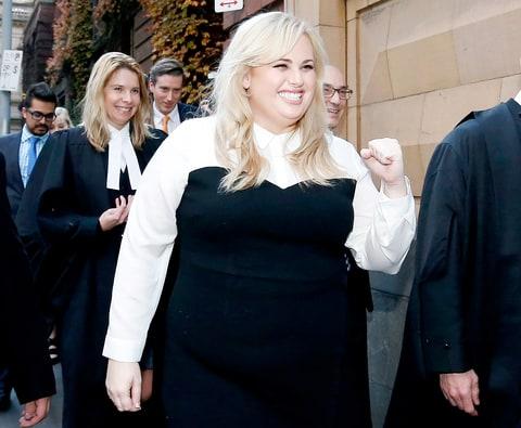 Рэбел Уилсон выиграла суд