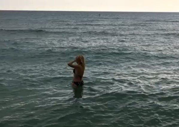 Кристина Орбакайте наслаждается отдыхом в Майами