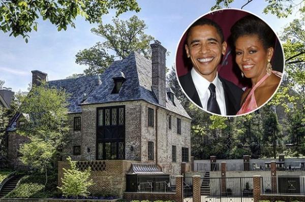 Барак и Мишель Обама купили особняк в Вашингтоне