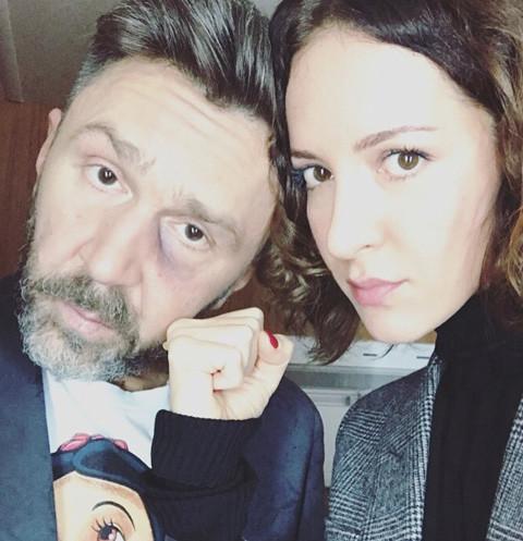 Сергей Шнуров обзывает жену