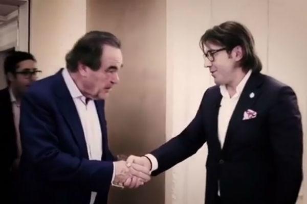 Андрей Малахов выведал секреты президента у Оливера Стоуна