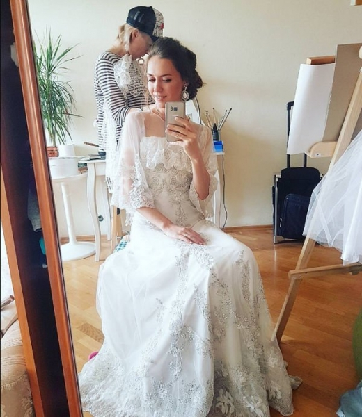 Мария Адоевцева рассказала, что сочеталась узами брака