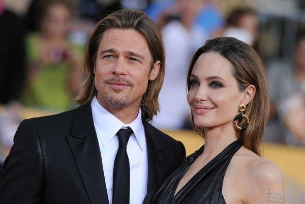 Анджелина Джоли и Брэд Питт видятся в тайной квартире