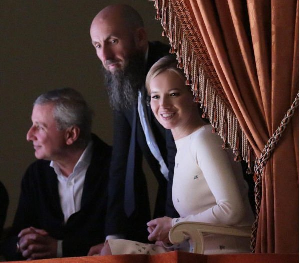 Ида Кехман крестила новорожденную дочку
