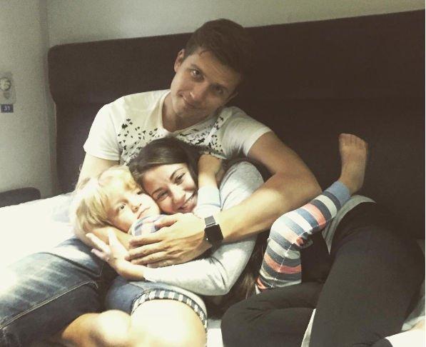 Денис Косяков празднует рождение ребенка