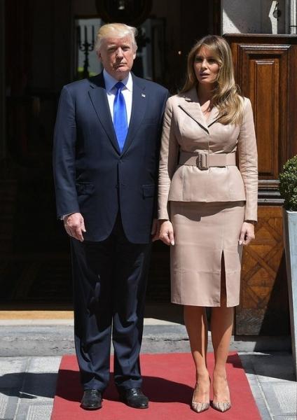 Британские женщины готовы на всё ради внешности как у Мелании Трамп
