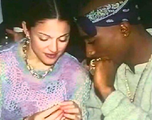 Тупак Шакур расстался с Мадонной, потому что она.. белокожая