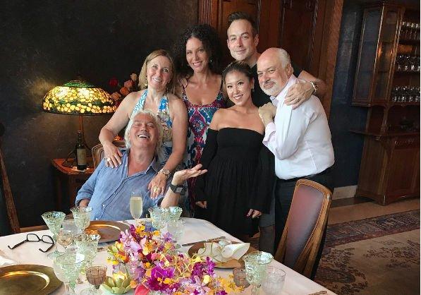 Дмитрий Хворостовский показал фотографии семейного праздника