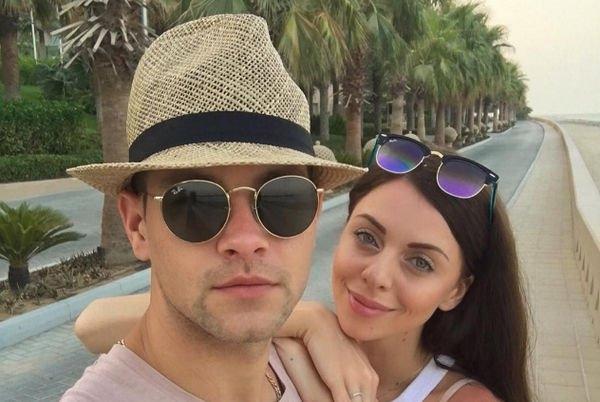 Ольга Рапунцель и Дмитрий Дмитренко весело проводят медовый месяц
