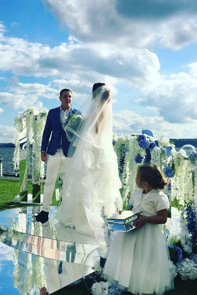 Дарья Канануха устроила оригинальную свадьбу