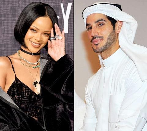 Рианна и Хасан Джамиль встречаются несколько месяцев