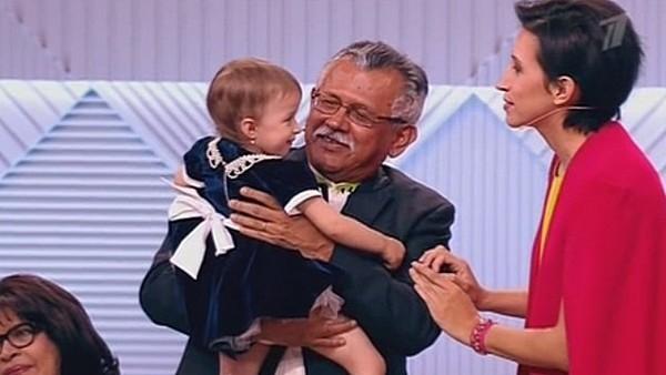 Родители Елены Борщевой встретились впервые за 37 лет