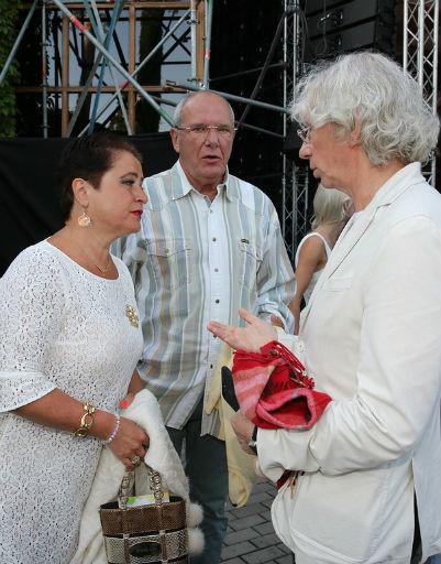 Лайма Вайкуле и Владимир Леонтьев зажгли на концерте в Юрмале