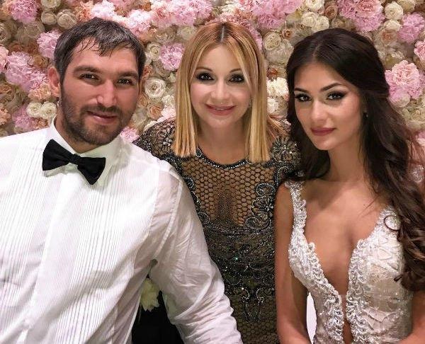 Александр Овечкин и Настасья Шубская закатили грандиозную свадьбу