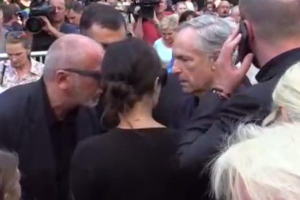 Родион Нахапетов прилетел на похороны Веры Глаголевой