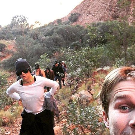 Кейли Куоко выложила в сеть снимки из путешествия по Австралии