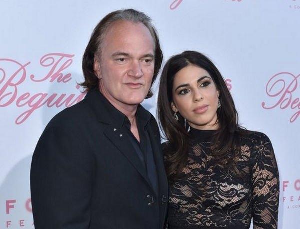 Квентин Тарантино и его невеста впервые вышли в свет после известия о помолвке