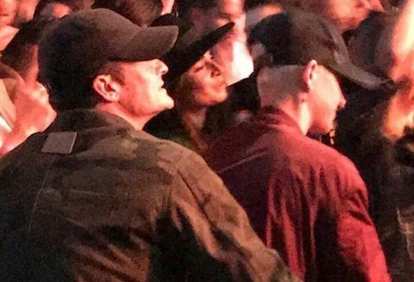 Кэти Перри и Орландо Блум страстно проявляли чувства друг к другу на концерте