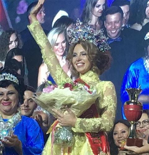 Полина Диброва стала «Миссис Россия-2017»