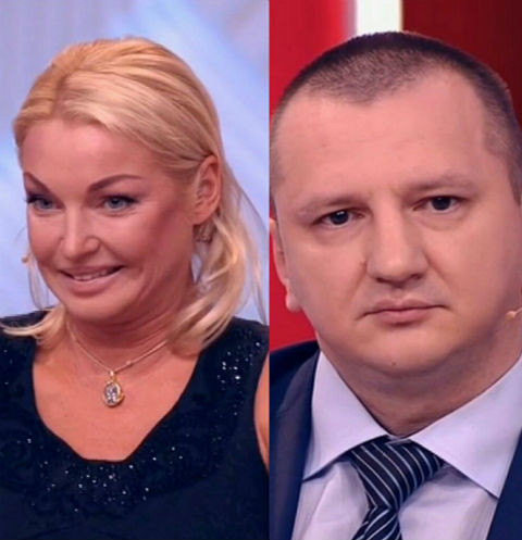 Анастасия Волочкова встретилась лицом к лицу с обманувшим ее водителем