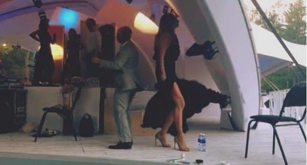 Дмитрий Хрусталев и Екатерина Варнава оторвались в зажигательном танце