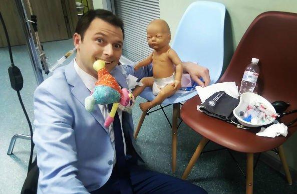 Илья Носков принимает поздравления с рождением третьего ребенка