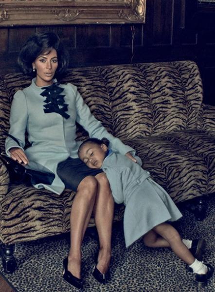 Дочь Ким Кардашьян и Канье Уэста дала свое первое интервью