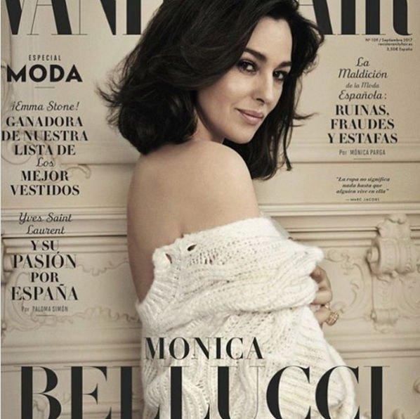 Моника Белуччи восхитила снимком на обложке журнала