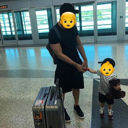 Сергей Лазарев выложил в сеть новое фото с сыном