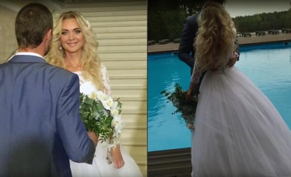 Предполагаемая невеста Александра Задойнова обнародовала свадебное видео