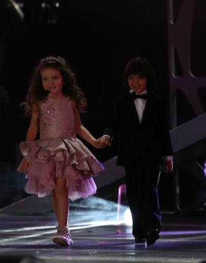 Дети Филиппа Киркорова впервые вышли на большую сцену