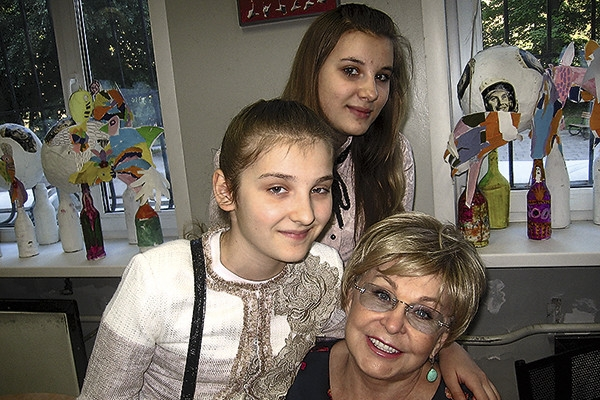 Ангелина Вовк: «Надо быть оптимистом»