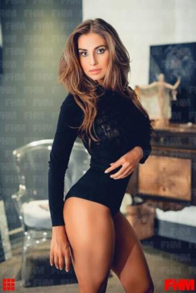 Модель Натали Соболева стала «девушкой месяца» журнала FHM
